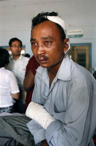 Myanmar Riot