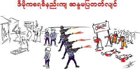 Myanmar Military Democracy