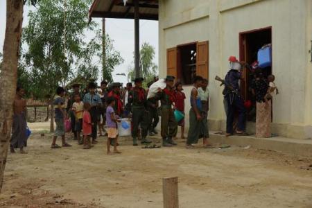 Rakhines helped