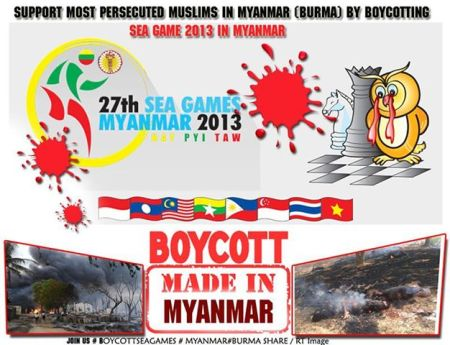 Boycott SEA Games Myanmar